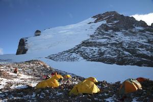 Summit Aconcagua, Argentina