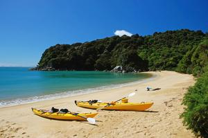 Sea Kayak Abel Tasman National Park, New Zealand