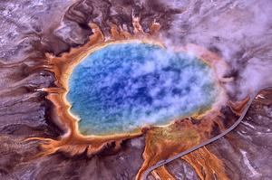 See Grand Prismatic Spring, Yellowstone National Park