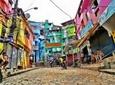 Rio de Janeiro Combo Tour: Santa Teresa, Corcovado Mountain and Santa Marta Favela