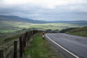 Drive A470 Through Snowdonia & Brecon Beacon National Parks, Wales