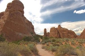Hike Devil's Garden Trail, Arches National Park