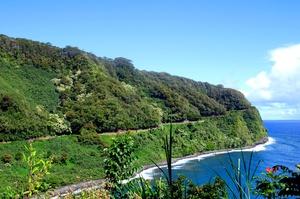 Drive Road to Hana, Maui, Hawaii