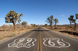 Drive on Route 66