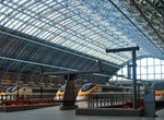 Ride through the Channel Tunnel (Chunnel), England & France