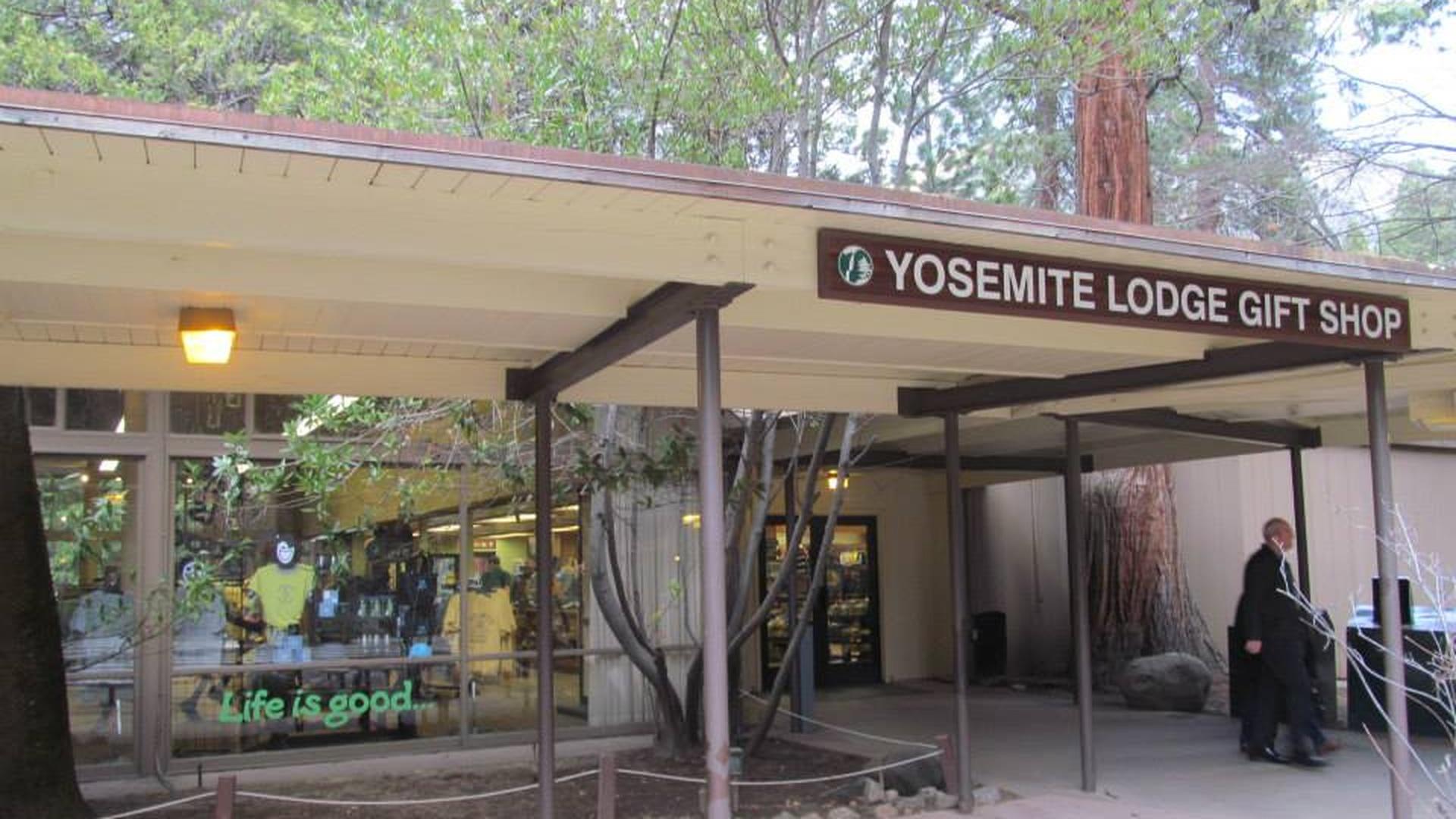 Yosemite Valley Lodge Gift Shop